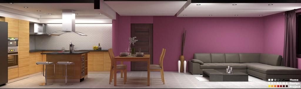 Кухня и дневна зона