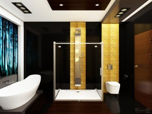 Bathroom Little Black
