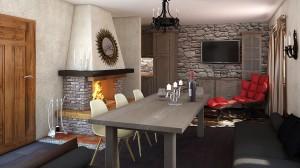 Guest house kitchen
