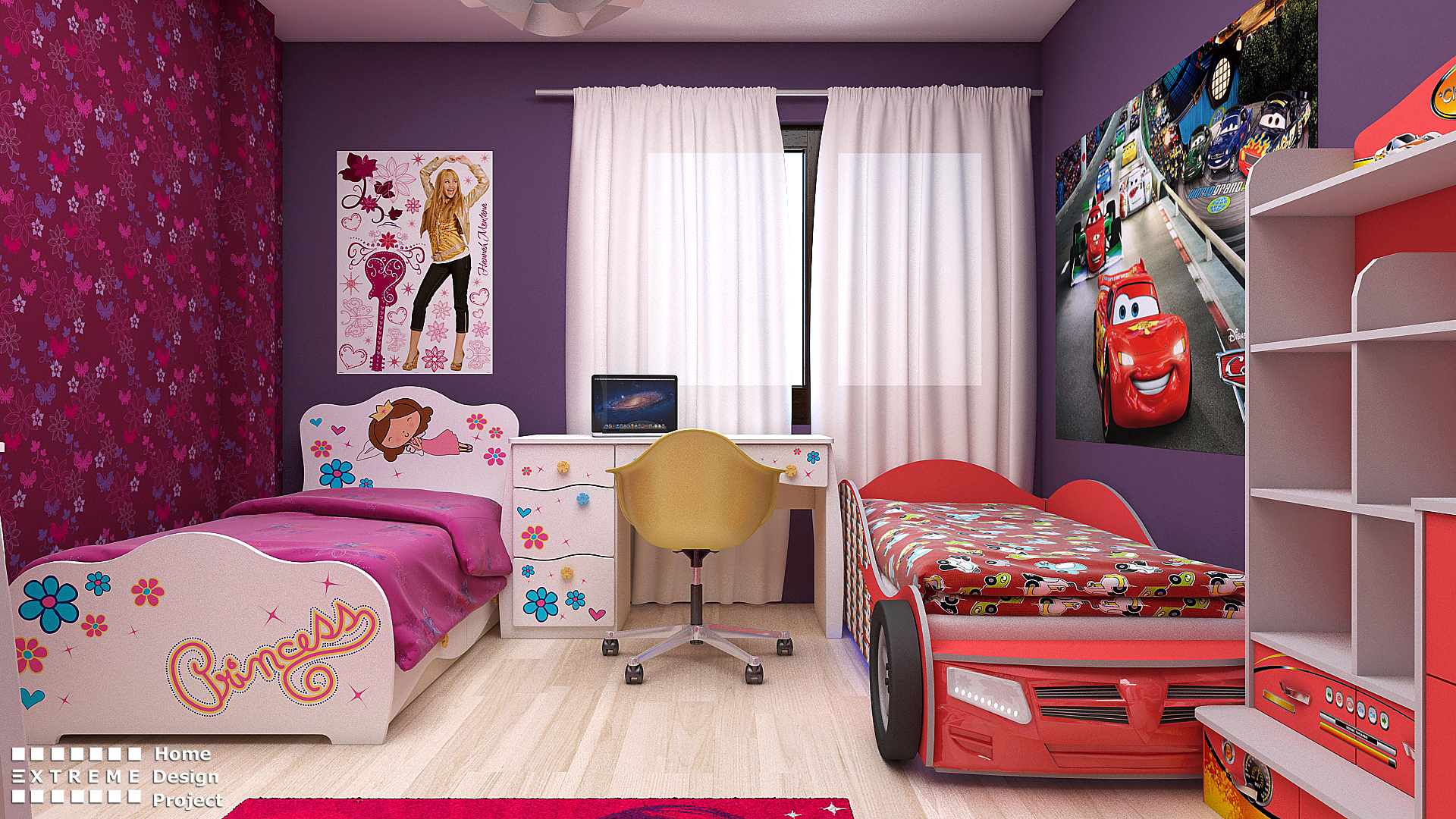 Детска стая за момче и момиче