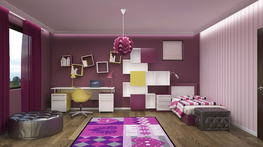 Kids girls room