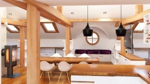 Attic space design