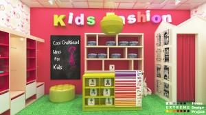 Kids shop design