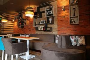 Cafe club Lenin realization