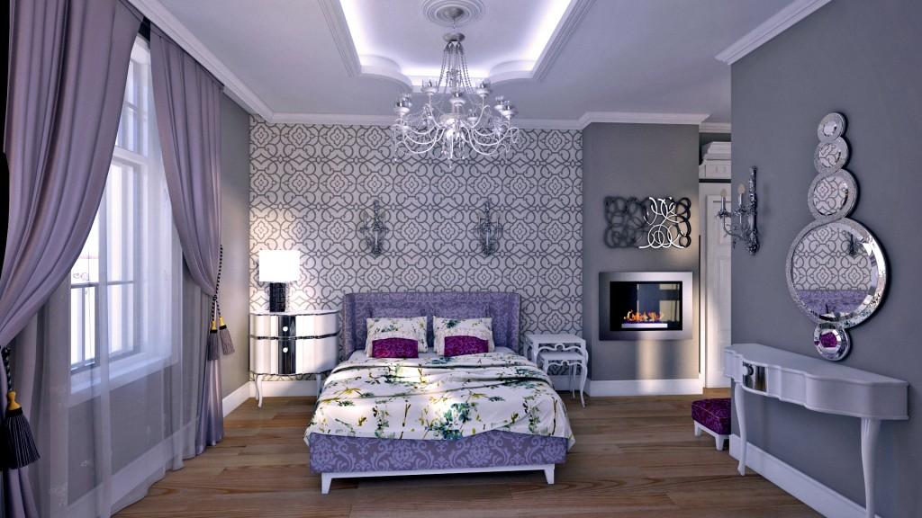 Woman bedroom provance