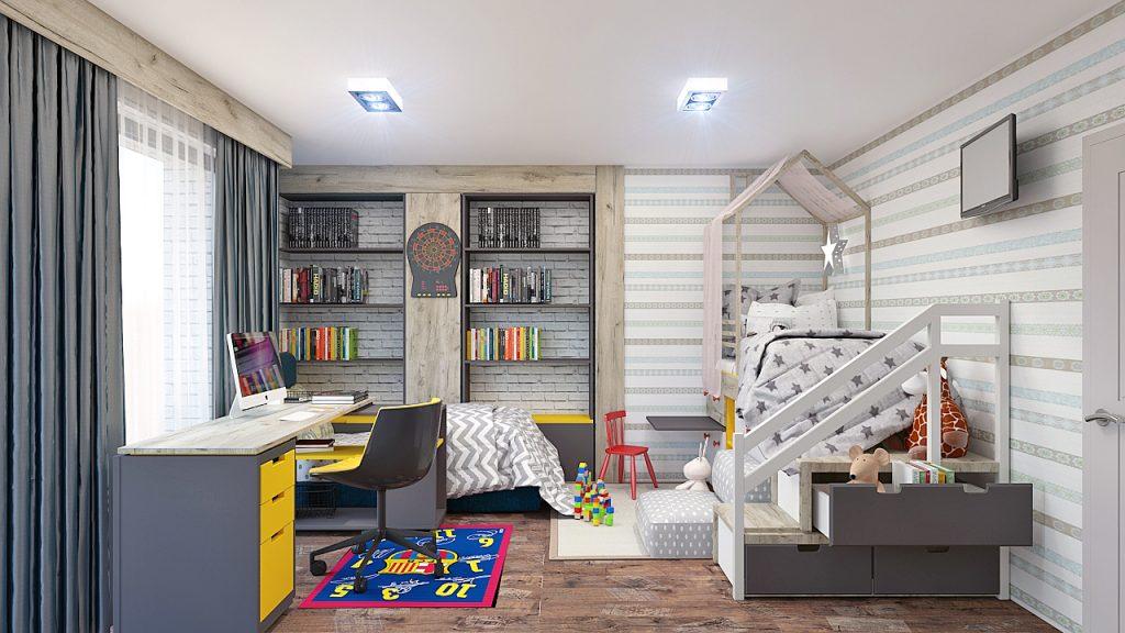 Modern Apartment Living room