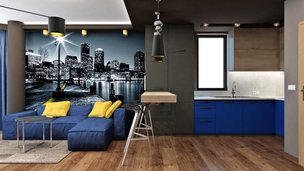 Masculine Appartment