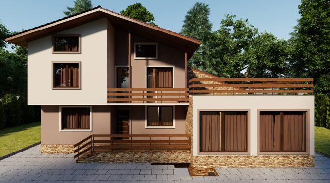 Крайградска къща