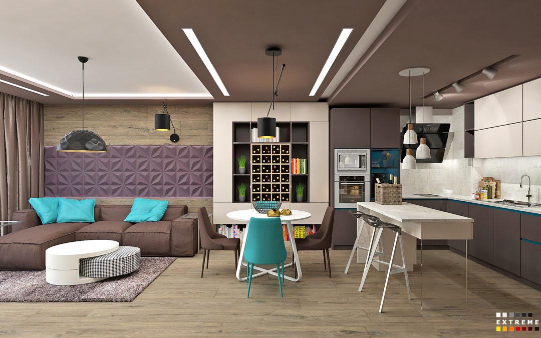 Стилен и модерен апартамент