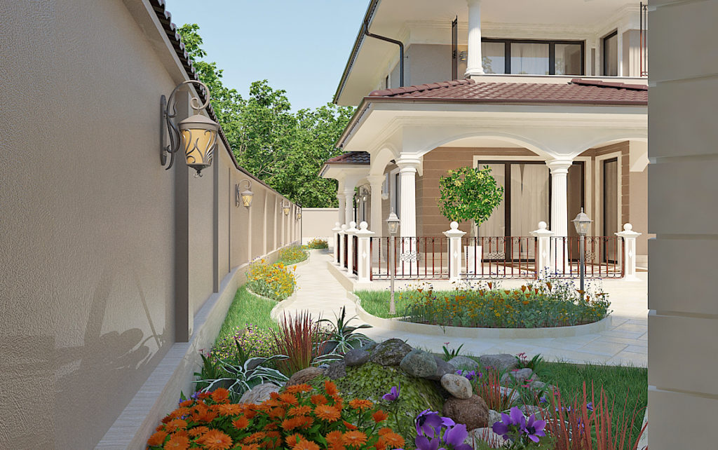 classical house design