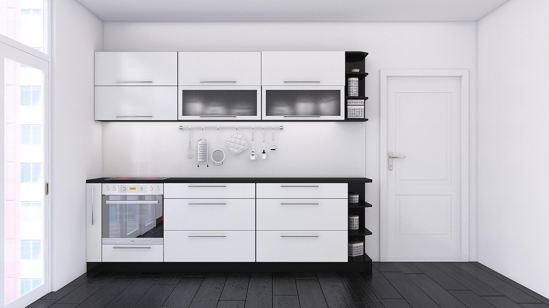 Черно бяла кухня
