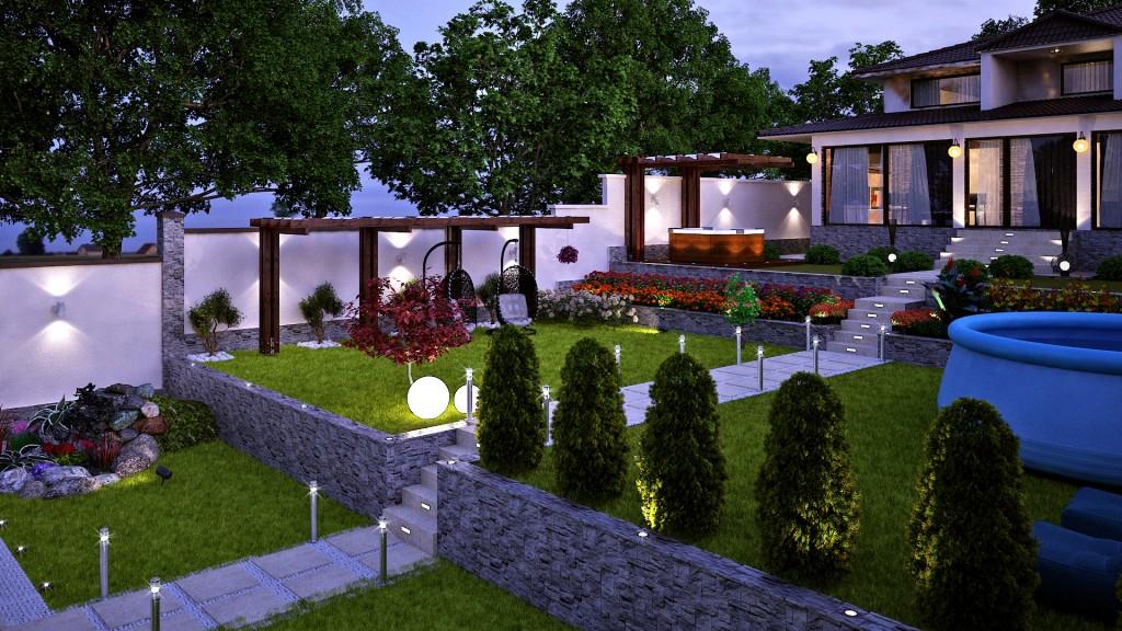 Outdoor garden project