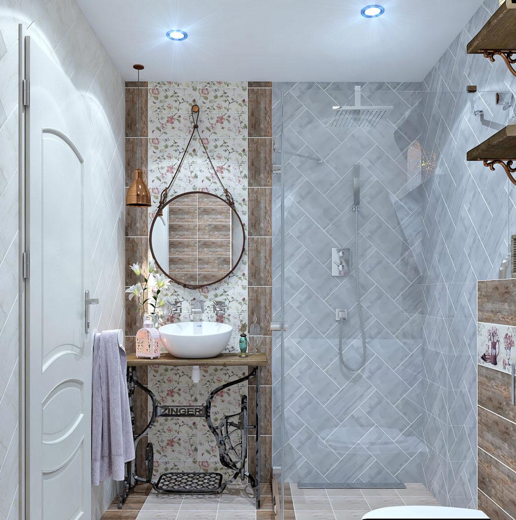 shabby chic bathroom