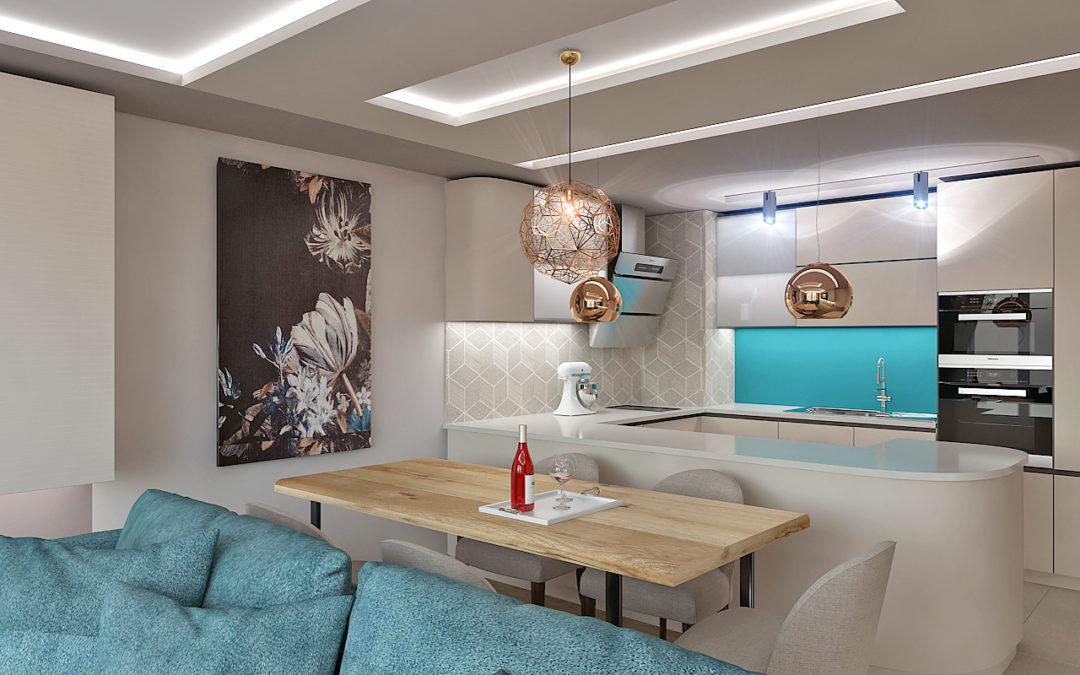 Домашен уют и спокойствие в апартамент от 100 кв.м.
